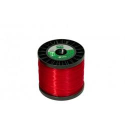 Fio de Nylon 2,4 mm 194 metros (redondo) Vermelha