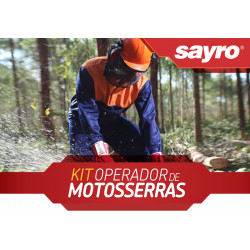 Kit de EPI'S para motosserrista