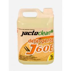 Detergente J60E - JACTO CLEAN - 05 LITROS - Para Limpadoras a Extração.